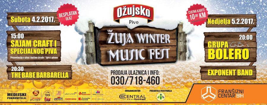 Žuja Winter Music Fest 2017