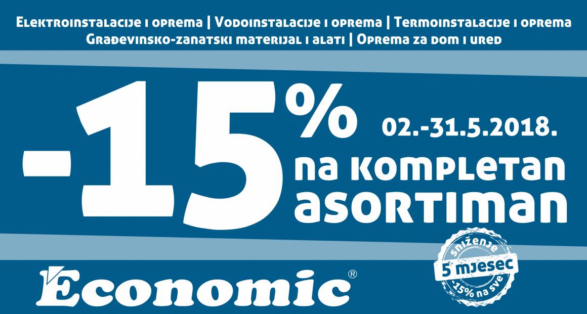 ECONOMIC D.O.O. VITEZ AKCIJA -15%