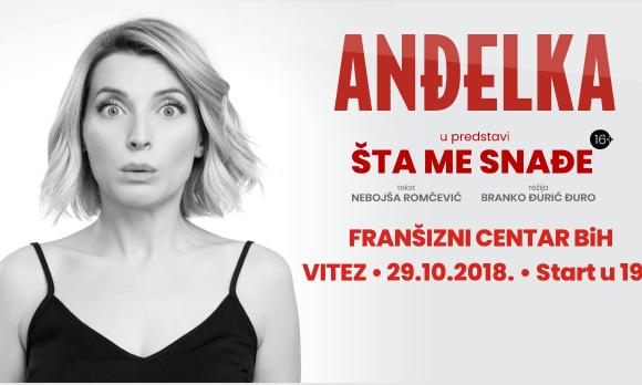 Popularna glumica Anđelka Prpić stiže u Vitez