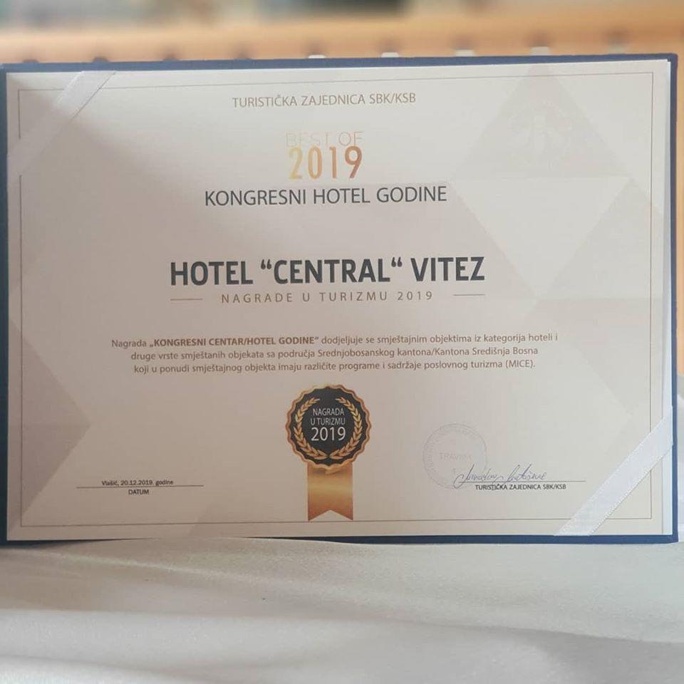 Hotel Central Vitez  🎉NAJBOLJI KONGRESNI HOTEL🎉