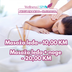 Wellness & SPA MASAŽA AKCIJA