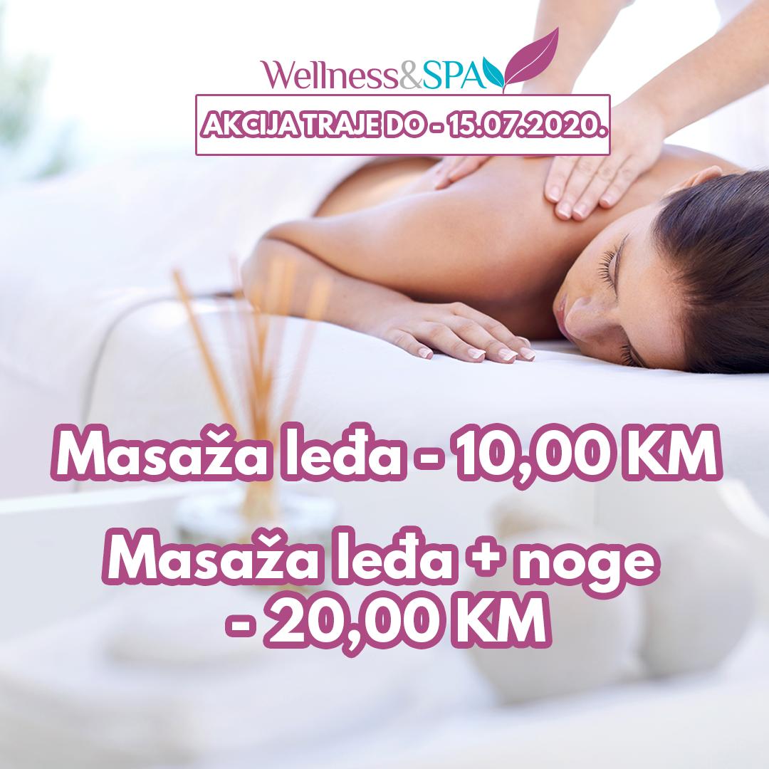 Wellness & SPA MASAŽA AKCIJA