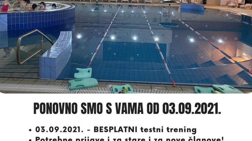 Škola plivanja!